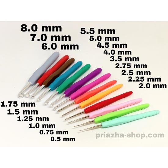 крючок с прорезиненной ручкой 2594 2