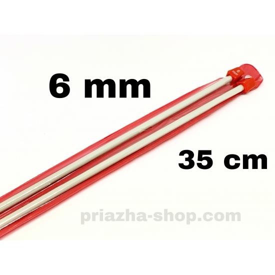 прямые спицы 6 мм 2609 priazha-shop.com 2
