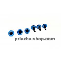 Глазки для игрушек (голубые)