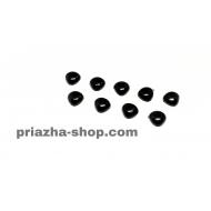 """глазки для игрушек (черные с золотом) купить в украине в интернет-магазине """"пряжа-shop"""" 3614 priazha-shop.com 5"""