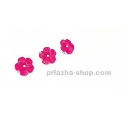 Пуговицы розовый цветок