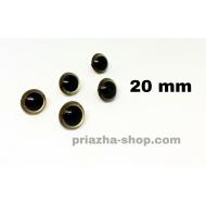"""глазки для игрушек (черные) 15мм купить в украине в интернет-магазине """"пряжа-shop"""" 3617 priazha-shop.com 10"""