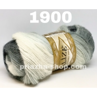 """пряжа alize angora gold batik 3350 ( ализе ангора голд батик ) для шапок, варежек, шарфов, шалей, кардиганов, свитеров, кофт, лёгких и воздушных тёплых аксессуаров - купить в украине в интернет-магазине """"пряжа-shop"""" 1820 priazha-shop.com 20"""