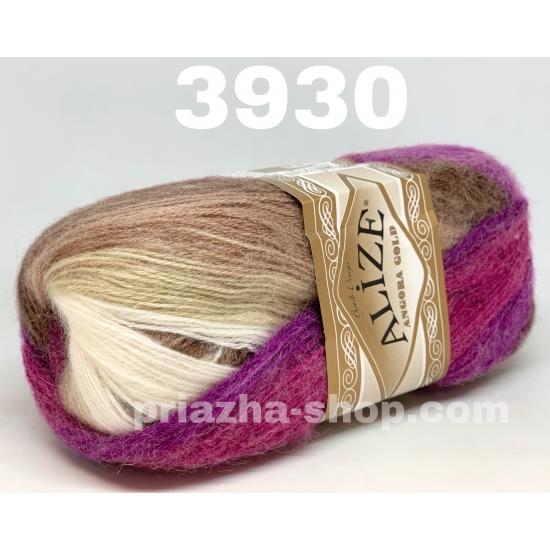 """пряжа alize angora gold batik 3930 ( ализе ангора голд батик ) для шапок, варежек, шарфов, шалей, кардиганов, свитеров, кофт, лёгких и воздушных тёплых аксессуаров - купить в украине в интернет-магазине """"пряжа-shop"""" 1814 priazha-shop.com 2"""