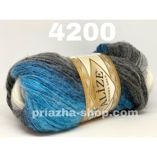 """пряжа alize angora gold batik 4200 ( ализе ангора голд батик ) для шапок, варежек, шарфов, шалей, кардиганов, свитеров, кофт, лёгких и воздушных тёплых аксессуаров - купить в украине в интернет-магазине """"пряжа-shop"""" 1828 priazha-shop.com 2"""