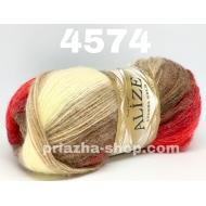 """пряжа alize angora gold batik 3350 ( ализе ангора голд батик ) для шапок, варежек, шарфов, шалей, кардиганов, свитеров, кофт, лёгких и воздушных тёплых аксессуаров - купить в украине в интернет-магазине """"пряжа-shop"""" 1820 priazha-shop.com 13"""