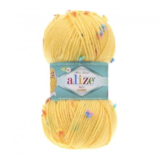 """пряжа alize baby flower 5385 ( ализе беби флауер ) вязаная детская одежда, игрушки, аксессуары для дома - в интернет-магазине """"пряжа-shop"""" 5648 priazha-shop.com 2"""