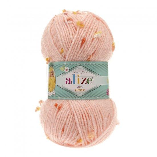 """пряжа alize baby flower 5392 ( ализе беби флауер ) вязаная детская одежда, игрушки, аксессуары для дома - в интернет-магазине """"пряжа-shop"""" 5650 priazha-shop.com 2"""