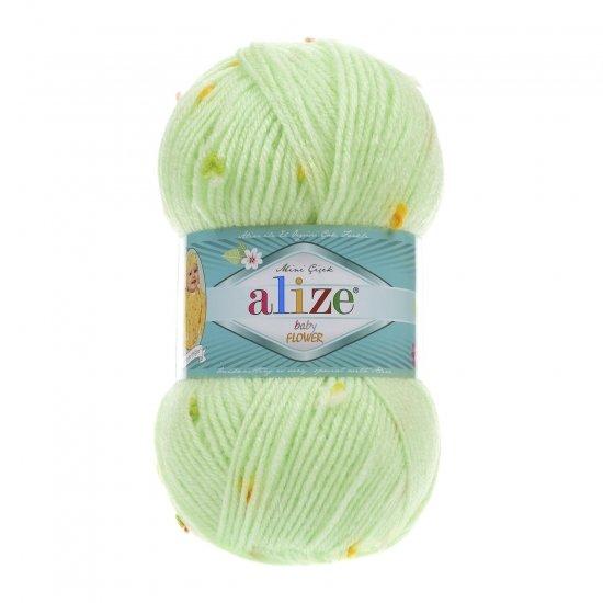 """пряжа alize baby flower 5411 ( ализе беби флауер ) вязаная детская одежда, игрушки, аксессуары для дома - в интернет-магазине """"пряжа-shop"""" 5653 priazha-shop.com 2"""