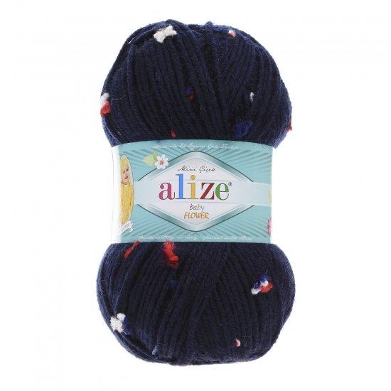 """пряжа alize baby flower 5426 ( ализе беби флауер ) вязаная детская одежда, игрушки, аксессуары для дома - в интернет-магазине """"пряжа-shop"""" 5656 priazha-shop.com 2"""