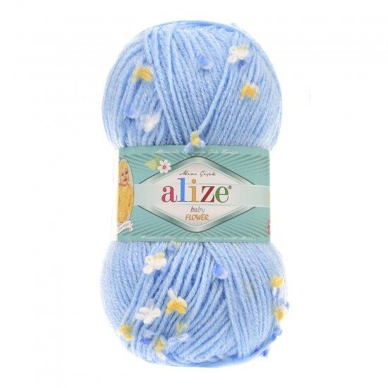 """пряжа alize baby flower 5435 ( ализе беби флауер ) вязаная детская одежда, игрушки, аксессуары для дома - в интернет-магазине """"пряжа-shop"""" 5657 priazha-shop.com 2"""