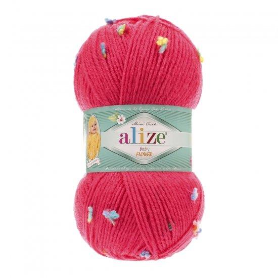 """пряжа alize baby flower 5561 ( ализе беби флауер ) вязаная детская одежда, игрушки, аксессуары для дома - в интернет-магазине """"пряжа-shop"""" 5668 priazha-shop.com 2"""