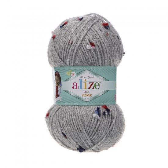 """пряжа alize baby flower 5808 ( ализе беби флауер ) вязаная детская одежда, игрушки, аксессуары для дома - в интернет-магазине """"пряжа-shop"""" 5670 priazha-shop.com 2"""