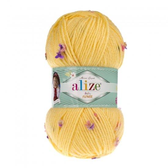 """пряжа alize baby flower 5873 ( ализе беби флауер ) вязаная детская одежда, игрушки, аксессуары для дома - в интернет-магазине """"пряжа-shop"""" 5673 priazha-shop.com 2"""