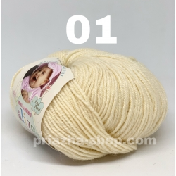Alize Baby Wool 01