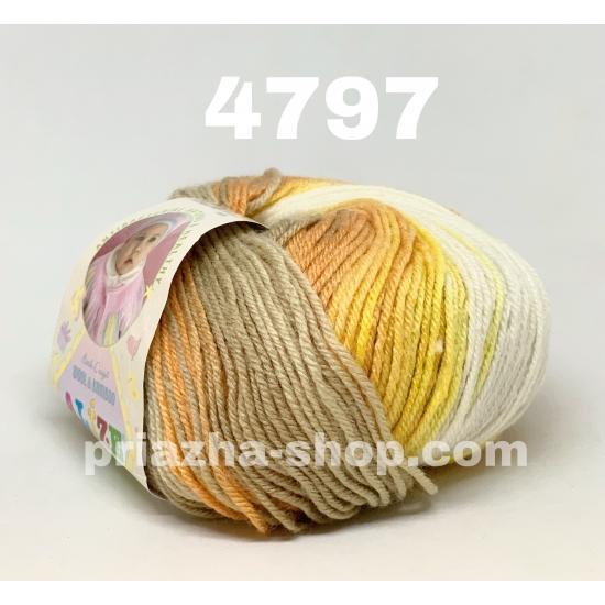 """пряжа alize baby wool batik 4797 ( ализе беби вул батик ) для вязания пледов, шапочек, кофточек и свитеров для детей и взрослых - купить в украине в интернет-магазине """"пряжа-shop"""" 3149 priazha-shop.com 2"""