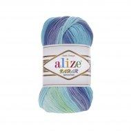 """пряжа alize bahar batik 7105 ( ализе бахар батик ) для летних кофточек и накидок, подойдет взрослым и детям - купить в украине в интернет-магазине """"пряжа-shop"""" 5716 priazha-shop.com 4"""