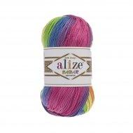 """пряжа alize bahar batik 7105 ( ализе бахар батик ) для летних кофточек и накидок, подойдет взрослым и детям - купить в украине в интернет-магазине """"пряжа-shop"""" 5716 priazha-shop.com 5"""