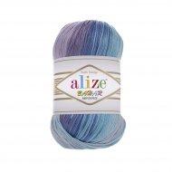 """пряжа alize bahar batik 7105 ( ализе бахар батик ) для летних кофточек и накидок, подойдет взрослым и детям - купить в украине в интернет-магазине """"пряжа-shop"""" 5716 priazha-shop.com 9"""