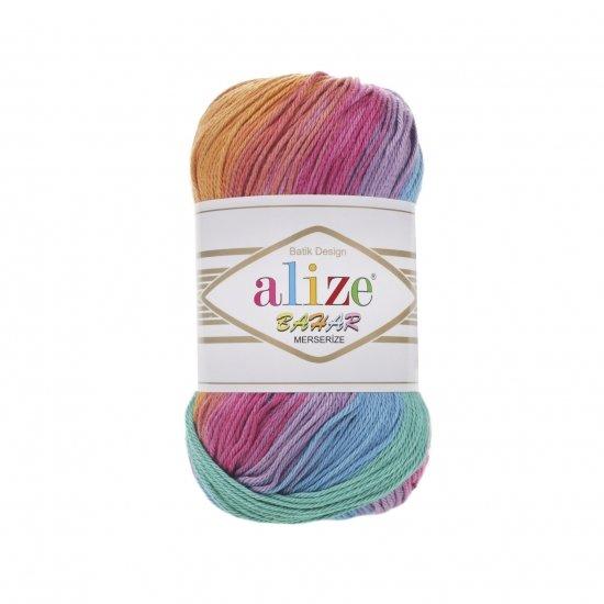 """пряжа alize bahar batik 4516 ( ализе бахар батик ) для летних кофточек и накидок, подойдет взрослым и детям - купить в украине в интернет-магазине """"пряжа-shop"""" 5712 priazha-shop.com 2"""