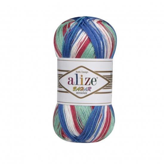"""пряжа alize bahar batik 7105 ( ализе бахар батик ) для летних кофточек и накидок, подойдет взрослым и детям - купить в украине в интернет-магазине """"пряжа-shop"""" 5716 priazha-shop.com 2"""