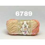 """пряжа alize bella batik 6785 ( ализе белла батик ) для летних кофточек и накидок, для взрослым и детей - купить в украине в интернет-магазине """"пряжа-shop"""" 456 priazha-shop.com 12"""