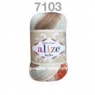 """пряжа alize bella batik 6785 ( ализе белла батик ) для летних кофточек и накидок, для взрослым и детей - купить в украине в интернет-магазине """"пряжа-shop"""" 456 priazha-shop.com 21"""