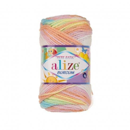 """пряжа alize burcum bebe batik 3563 ( ализе буркум бебе батик ) для детской одежды и аксессуаров, игрушек и поделок - купить в украине в интернет-магазине """"пряжа-shop"""" 5798 priazha-shop.com 2"""
