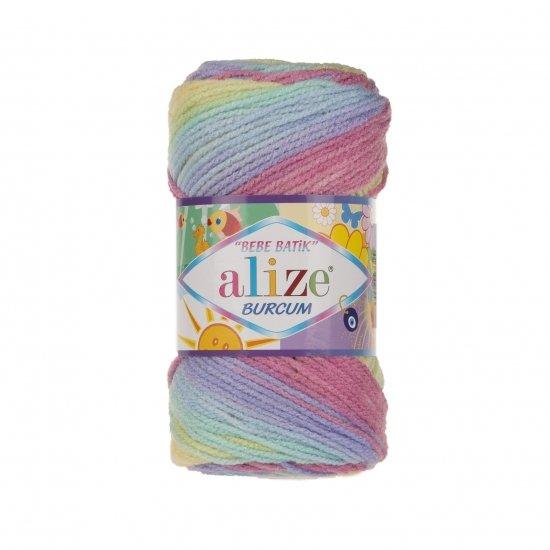 """пряжа alize burcum bebe batik 3908 ( ализе буркум бебе батик ) для детской одежды и аксессуаров, игрушек и поделок - купить в украине в интернет-магазине """"пряжа-shop"""" 5799 priazha-shop.com 2"""