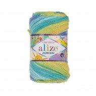 """пряжа alize burcum bebe batik 3454 ( ализе буркум бебе батик ) для детской одежды и аксессуаров, игрушек и поделок - купить в украине в интернет-магазине """"пряжа-shop"""" 5797 priazha-shop.com 11"""