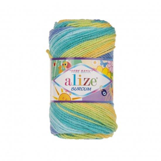 """пряжа alize burcum bebe batik 4798 ( ализе буркум бебе батик ) для детской одежды и аксессуаров, игрушек и поделок - купить в украине в интернет-магазине """"пряжа-shop"""" 5800 priazha-shop.com 2"""
