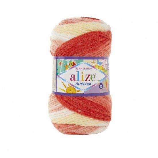 """пряжа alize burcum bebe batik 7104 ( ализе буркум бебе батик ) для детской одежды и аксессуаров, игрушек и поделок - купить в украине в интернет-магазине """"пряжа-shop"""" 5804 priazha-shop.com 2"""