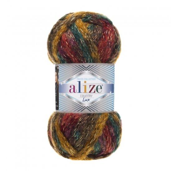 """пряжа alize country lux 5563 ( ализе кантри люкс ) для вязания шапок, варежек, теплых шарфов, кардиганов, свитеров, объемных аксессуаров - купить в украине в интернет-магазине """"пряжа-shop"""" 5914 priazha-shop.com 2"""