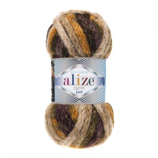 """пряжа alize country lux 5633 ( ализе кантри люкс ) для вязания шапок, варежек, теплых шарфов, кардиганов, свитеров, объемных аксессуаров - купить в украине в интернет-магазине """"пряжа-shop"""" 5916 priazha-shop.com 2"""