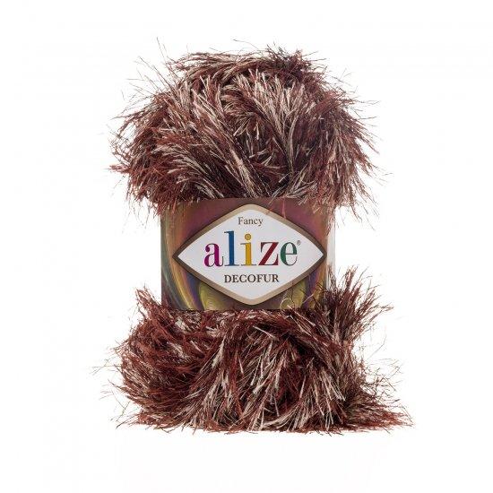 """пряжа alize decofur 1365 ( ализе декофур ) для вязания зимней и летней одежды, аксессуаров необычных цветовых оттенков - купить в украине в интернет-магазине """"пряжа-shop"""" 6412 priazha-shop.com 2"""