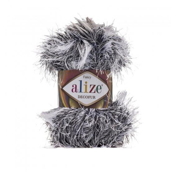 """пряжа alize decofur 1366 ( ализе декофур ) для вязания зимней и летней одежды, аксессуаров необычных цветовых оттенков - купить в украине в интернет-магазине """"пряжа-shop"""" 6413 priazha-shop.com 2"""