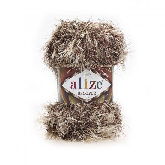 """пряжа alize decofur 1367 ( ализе декофур ) для вязания зимней и летней одежды, аксессуаров необычных цветовых оттенков - купить в украине в интернет-магазине """"пряжа-shop"""" 6414 priazha-shop.com 2"""