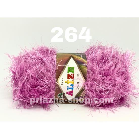 """пряжа alize decofur 264 ( ализе декофур ) для вязания зимней и летней одежды, аксессуаров необычных цветовых оттенков - купить в украине в интернет-магазине """"пряжа-shop"""" 2739 priazha-shop.com 2"""