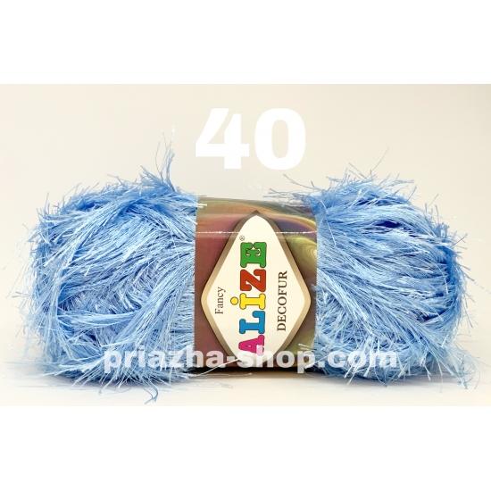 """пряжа alize decofur 40 ( ализе декофур ) для вязания зимней и летней одежды, аксессуаров необычных цветовых оттенков - купить в украине в интернет-магазине """"пряжа-shop"""" 3079 priazha-shop.com 2"""