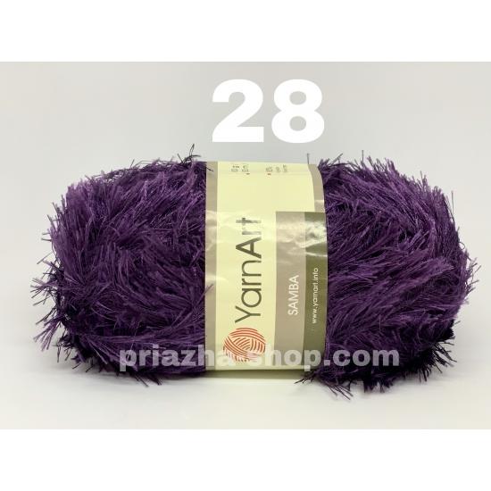 """пряжа yarnart samba 28 ( ярнарт самба ) для вязания зимней и летней одежды, аксессуаров необычных цветовых оттенков - купить в украине в интернет-магазине """"пряжа-shop"""" 2752 priazha-shop.com 2"""