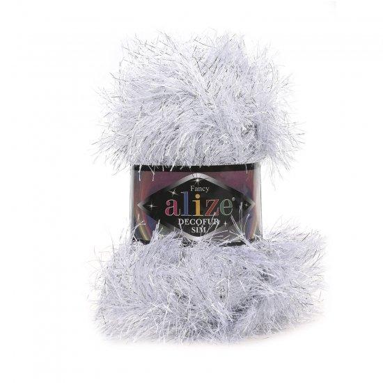 """пряжа alize decofur sim 5501 ( ализе декофур сим ) для вязания зимней и летней одежды, аксессуаров необычных цветовых оттенков - купить в украине в интернет-магазине """"пряжа-shop"""" 5920 priazha-shop.com 2"""