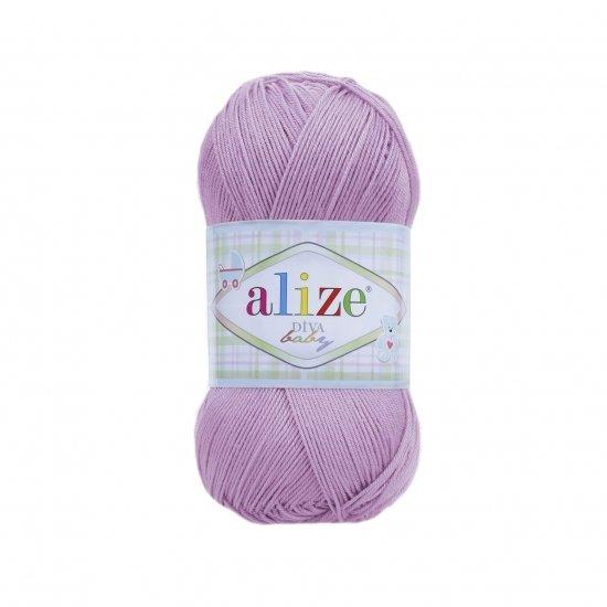 """пряжа alize diva baby 739 ( ализе дива беби ) для туник, кофт, топов и прочих легких вещичек в первую очередь для детей - купить в украине в интернет-магазине """"пряжа-shop"""" 5962 priazha-shop.com 2"""
