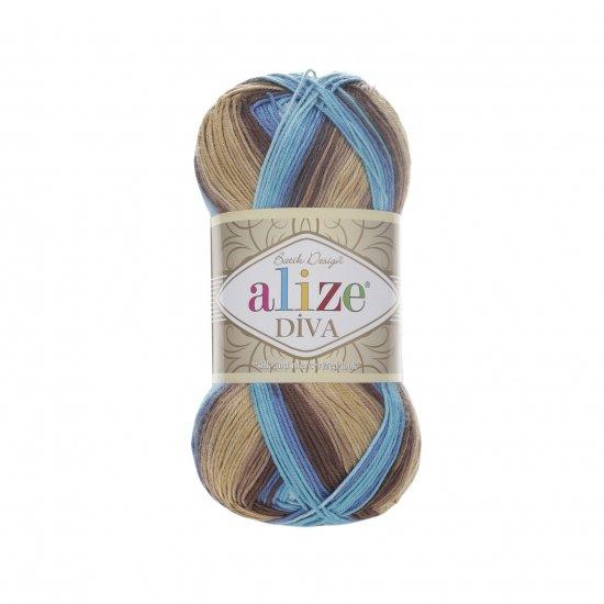 """пряжа alize diva batik 3243 ( ализе дива батик ) для туник, кофточек, топов и других легких нарядов для взрослых и детей - купить в украине в интернет-магазине """"пряжа-shop"""" 5971 priazha-shop.com 2"""