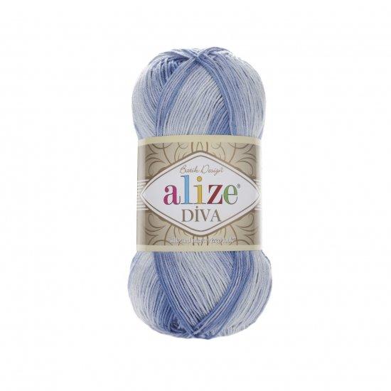 """пряжа alize diva batik 3282 ( ализе дива батик ) для туник, кофточек, топов и других легких нарядов для взрослых и детей - купить в украине в интернет-магазине """"пряжа-shop"""" 5973 priazha-shop.com 2"""