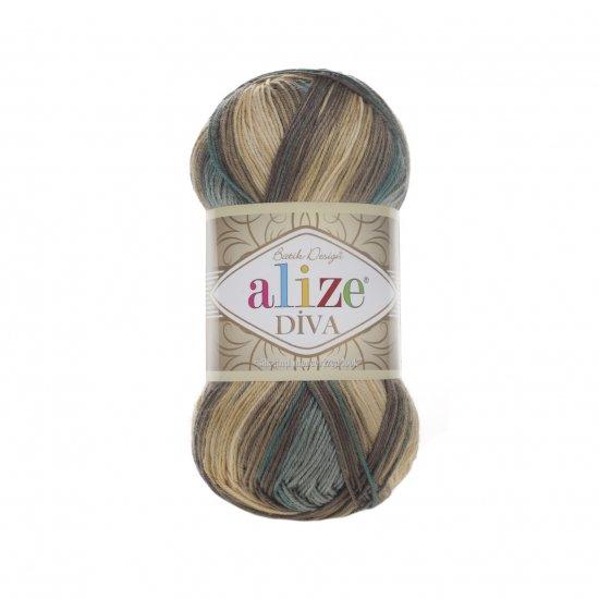 """пряжа alize diva batik 3307 ( ализе дива батик ) для туник, кофточек, топов и других легких нарядов для взрослых и детей - купить в украине в интернет-магазине """"пряжа-shop"""" 5974 priazha-shop.com 2"""