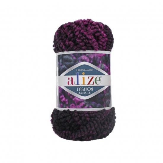 """пряжа alize fashion boucle 5572 ( ализе фешн букле ) для вязания вещей осенне-зимнего гардероба - купить в украине в интернет-магазине """"пряжа-shop"""" 6036 priazha-shop.com 2"""
