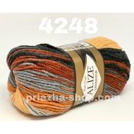 """пряжа alize superwash 7199 ( ализе супервош ) для теплых носков, свитеров, кардиганов - купить в украине в интернет-магазине """"пряжа-shop"""" 3655 priazha-shop.com 32"""