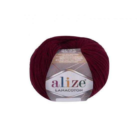 """пряжа alize lanacoton 390 ( ализе ланакотон ) для вязания шапок, свитеров, кардиганов, шарфов, кофт, джемперов, жакетов - купить в украине в интернет-магазине """"пряжа-shop"""" 6092 priazha-shop.com 2"""