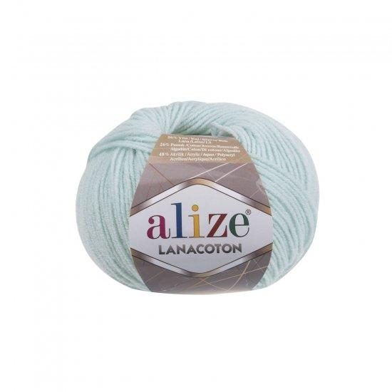 """пряжа alize lanacoton 522 ( ализе ланакотон ) для вязания шапок, свитеров, кардиганов, шарфов, кофт, джемперов, жакетов - купить в украине в интернет-магазине """"пряжа-shop"""" 6096 priazha-shop.com 2"""