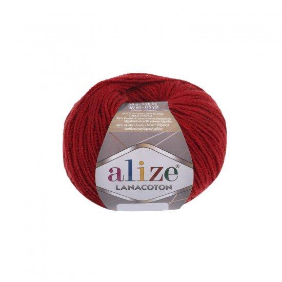 """пряжа alize lanacoton 56 ( ализе ланакотон ) для вязания шапок, свитеров, кардиганов, шарфов, кофт, джемперов, жакетов - купить в украине в интернет-магазине """"пряжа-shop"""" 6080 priazha-shop.com 2"""